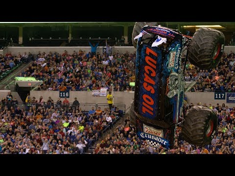 Monster Jam Indianapolis 2017 Highlights! (Show 2)