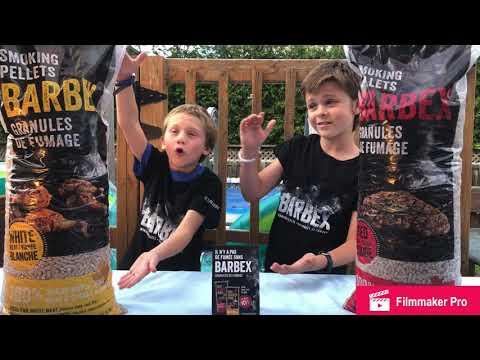 Jacob et Adam, l'art du fumoir c'est un jeu d'enfants avec les granules de fumage BARBEX! PARTIE 1