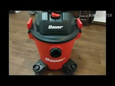Bauer Shop Vac Harbor Freight: update