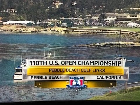 2010 US Open At Pebble Beach On NBC - Third Round