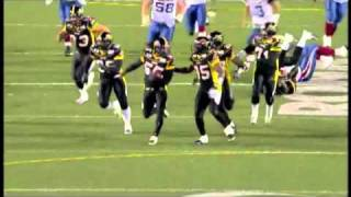 Stevie Baggs 90 yard fumble recovery touchdown - October 22, 2010