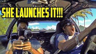 Mom DRIVES My Turbo Integra thumbnail