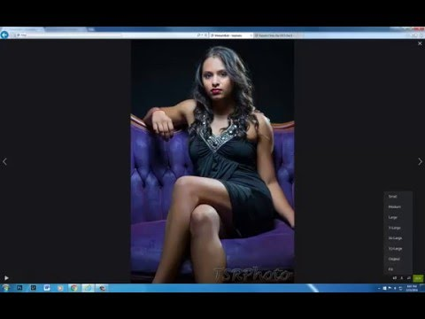 How to download images from a SmugMug site - YouTube