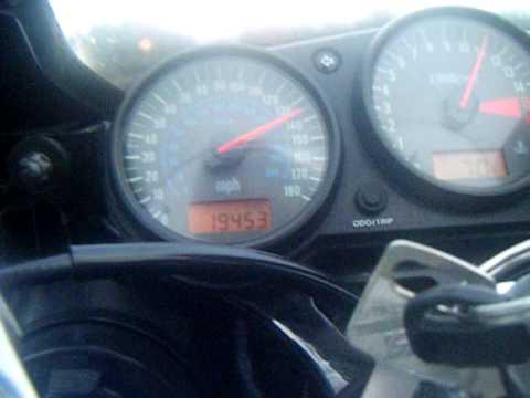 top speed run on ninja 600 (zx6r) - youtube