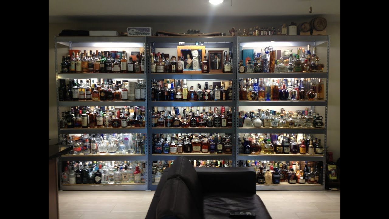 My Liquor Collection And Bar Video Updated 2014 Youtube
