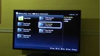 Samsung SmartTV - Video Playback Format Tests From USB Flash Disk