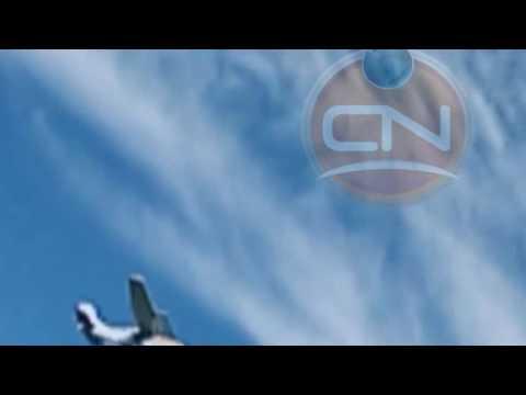 El video del momento en que arrojan la droga en un campo cerca de Concordia