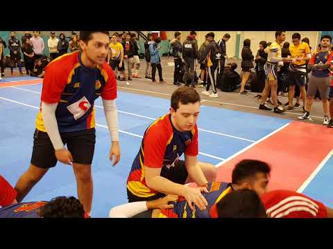 Kabaddi Nationals 2018 UoB vs Warwick