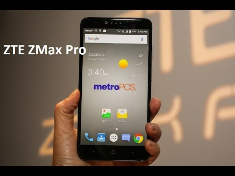 could consider zte zmax pro metropcs update know