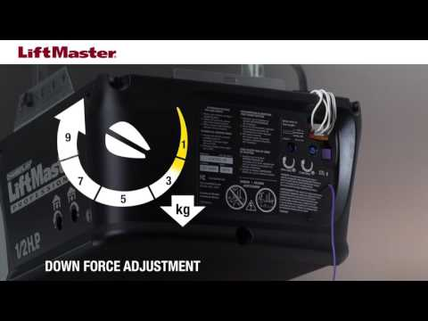 how-to-adjust-force-on-a-liftmaster-garage-door-opener-with-manual-adjustment-controls