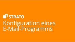 Konfiguration eines E-Mail-Programms   STRATO Tutorial