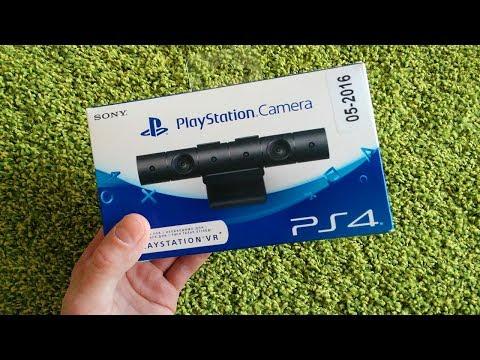 📦-Распаковка-playstation-camera-v2-за-2500-руб.-/-Модель-cuh-zey2-ᴴᴰ-1080p