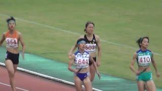 関東高校新人陸上2016 女子4×400mR決勝