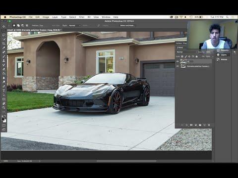 Polarized Car Photos - Photoshop Tutorial Automotive Photography