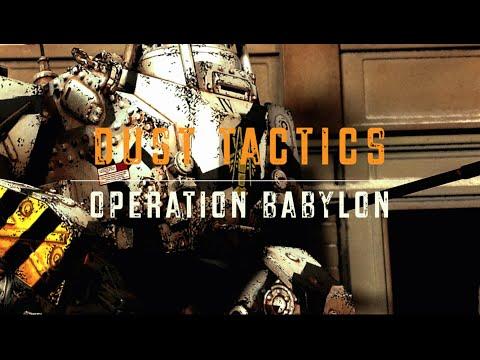 Dust Tactics - Operation Babylon Campaign Book