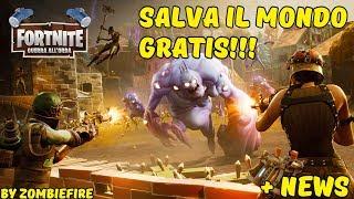 COME WEALTH FORTNITE SAVE IL MONDO FOR FREE!! 💰 + NEWS IMPORTANTI (ITA)