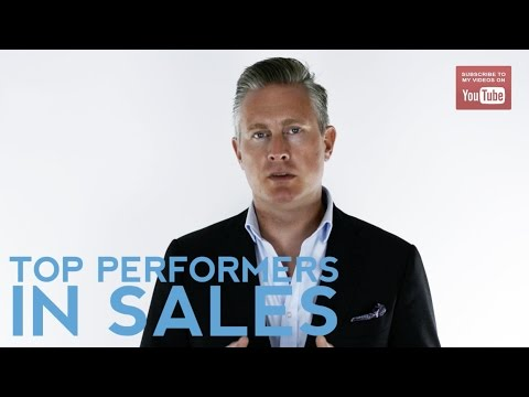 What You Need To Know About Top Performers In Sales