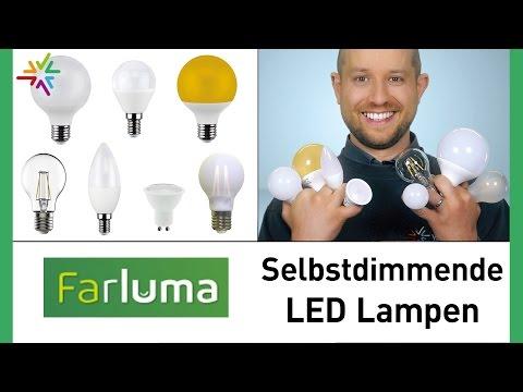 Die innovativen Farluma LED Lampen - Machen Ihre Leuchte dimmbar