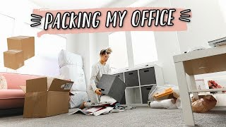 WE OFFICIALLY STARTED PACKING! | WE