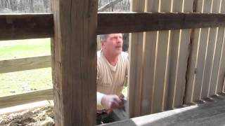 Corn Crib Construction