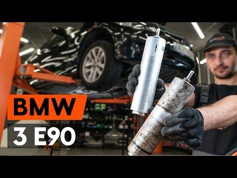 Jak Vyměnit Palivový Filtr Na BMW 3 (E90) [NÁVOD AUTODOC]