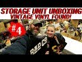 I Bought A Vintage Storage Unit Auction | Look What I Found | Classic Rock Vintage Vinyl Records