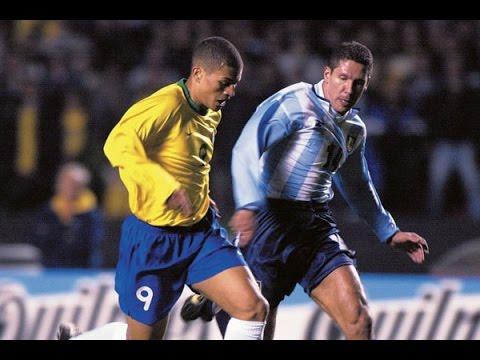 Eliminatórias   Copa  do   Mundo    2002    Brasil     vs   Argentina