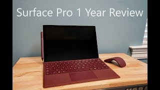 2017 Microsoft Surface Pro 1 Year Review (Is it worth it?)