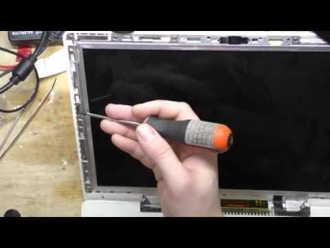 замена лампы подсветки в матрице