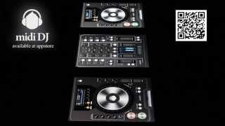 Midi DJ iPad controller