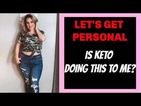 KETO DIET SIDE EFFECTS  / INTERMITTENT FASTING & KETO DIET UPDATE / DANIELA DIARIES thumbnail