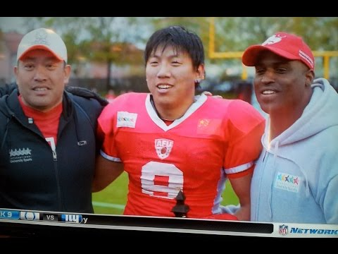 """Ricky Williams NFL """"Football Life"""" with China National Team"""
