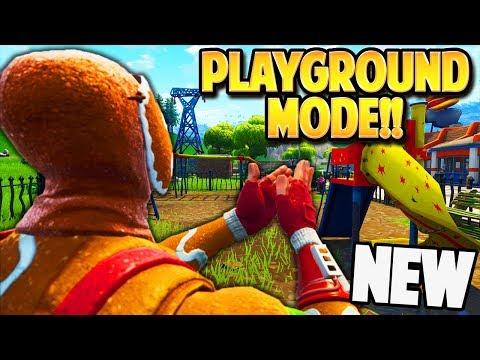 NEW PLAYGROUND LTM GAMEMODE In FORTNITE: BATTLE ROYALE! | TBNRKENWORTH