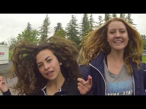 Sonoma State University CROSS COUNTRY/TRACK team Shake it Off lib-dub