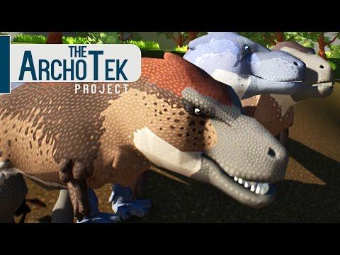 The Archotek Project - Caçando Com Tiranossauro Rex, Ninho De Dinossauros!| Dinossauros (#2) (PT-BR)