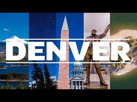 Denver - The Mile-High City [4K]