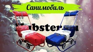видео Популярные санки-коляска
