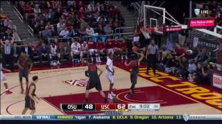 Men's Basketball: USC 92, Oregon St. 66 - Highlights 2/9/17