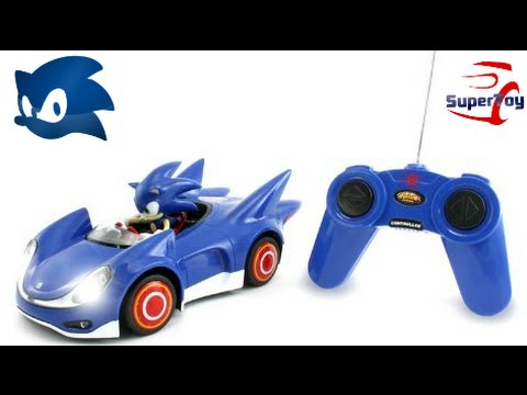 Sonic And Sega All Stars Racing Remote Controlled Car Sonic The Hedgehog Youtube