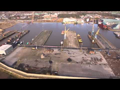 Green Port Hull Progress footage - December 2015 / January 2016