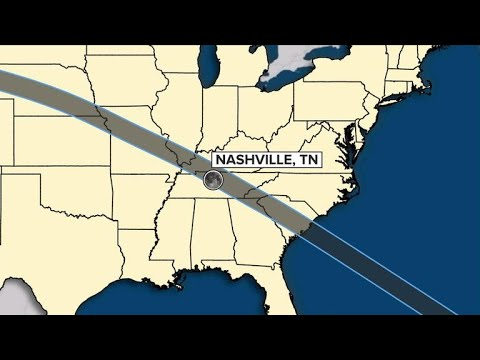 Nashville will be largest city to experience total solar eclipse