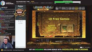 Casino Slots Live - 22/03/19 - *BONUS HUNT*
