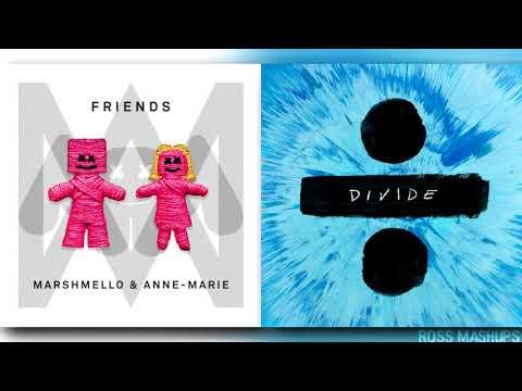 ''SHAPE OF FRIENDS'' | MASHUP feat. Ed Sheeran,Anne-Marie & Marshmello