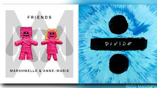 ''SHAPE OF FRIENDS'' | MASHUP feat. Ed Sheeran,Anne-Marie & Marshmello
