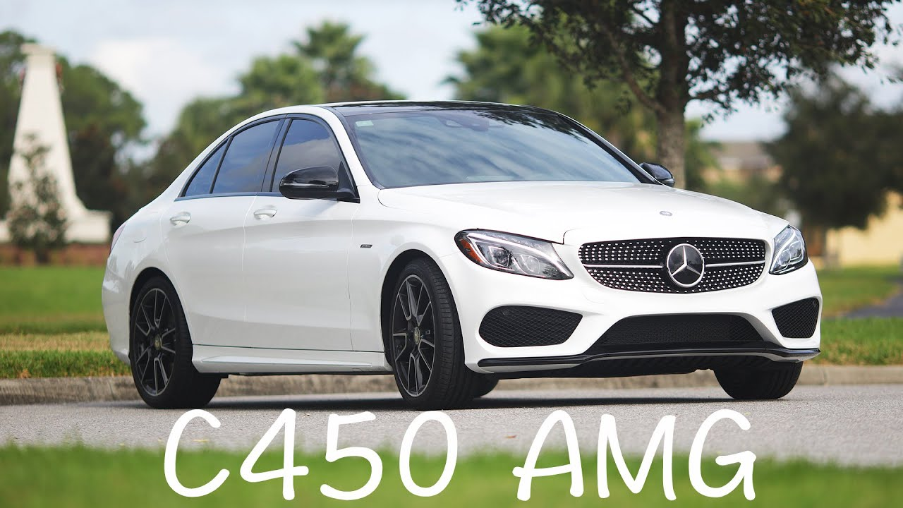 2016 mercedes benz c450 amg 4matic review w205 youtube for Mercedes benz c450