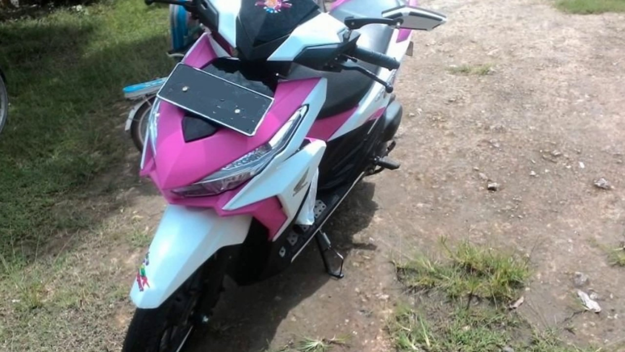 Inilah Vario 150 Warna Putih Pink YouTube