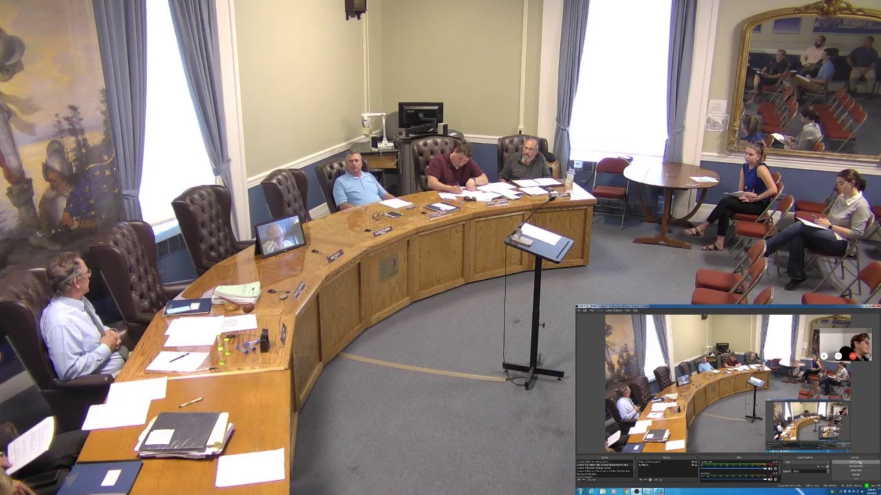 City of Plattsburgh, NY Meeting  8-29-19