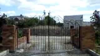 видео Гидравлические приводы для распашных ворот