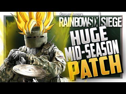 TACHANKA BUFF INBOUND! HUGE Mid-Season Reinforcement - Rainbow Six Siege