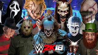 THE SCARIEST HORROR MOVIE | Royal Rumble WWE 2K18